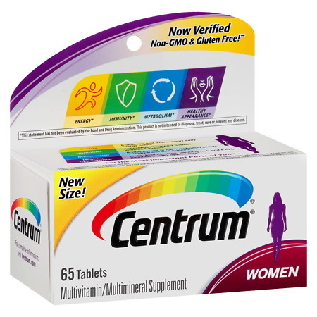 Centrum Women, Complete MultivitaminMultimineral Supplement Tablet - 65 ea