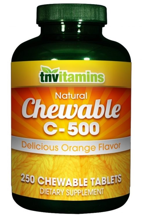 Chewable C 500 Orange