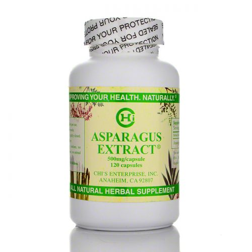 Chi's Enterprise Asparagus Extract, 120 count
