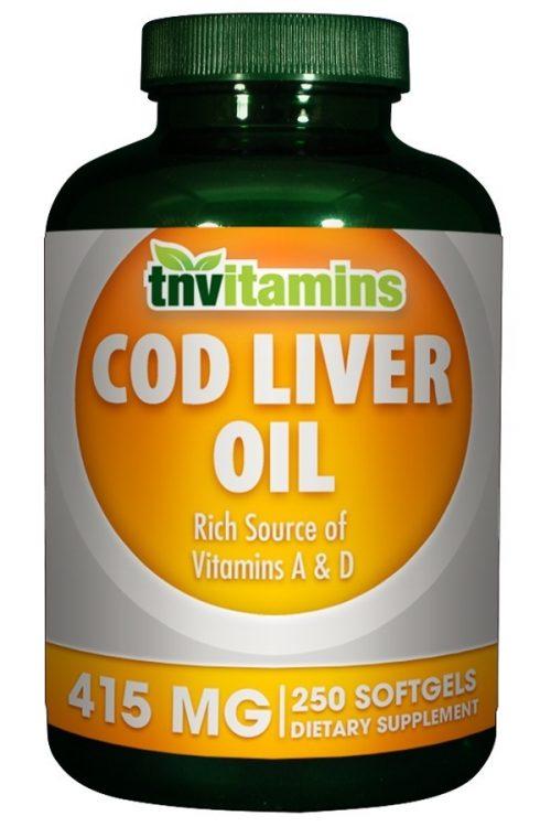 Cod Liver Oil 415 Mg
