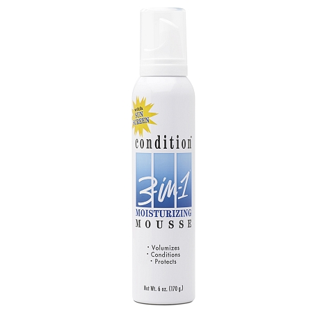 Condition 3-in-1 Mousse Moisturizing Extra Care - 6 oz.