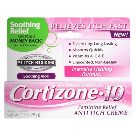 Cortizone 10 Maximum Strength Feminine Itch - 1 oz.