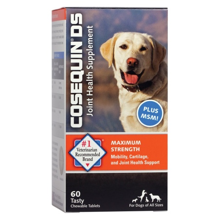 Cosequin DS Plus MSM, Joint Health Supplement for Dogs - 60 ea