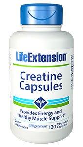 Creatine Capsules, 120 vegetarian capsules