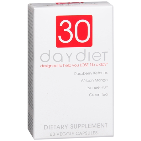 Creative Bioscience 30 Day Diet Dietary Supplement Capsules - 60 ea