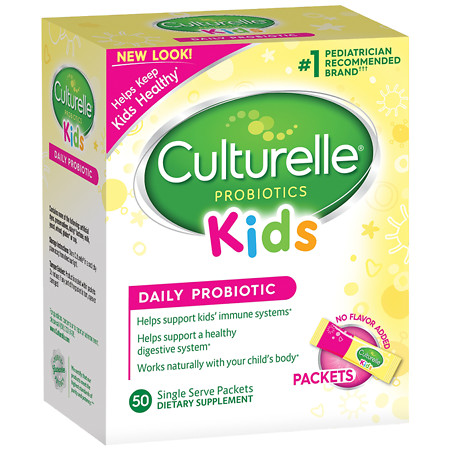 Culturelle Kids' Probiotic Packets - 50 ea