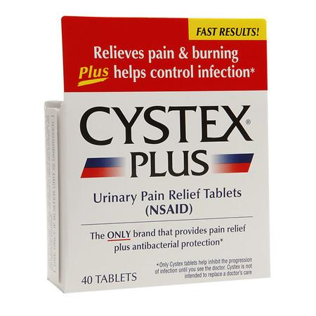 Cystex Urinary Pain Relief Tablets - 40 ea