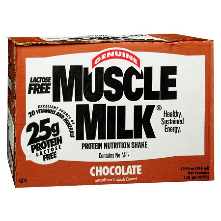 CytoSport Muscle Milk Protein Nutritional Shakes Chocolate - 14 oz.