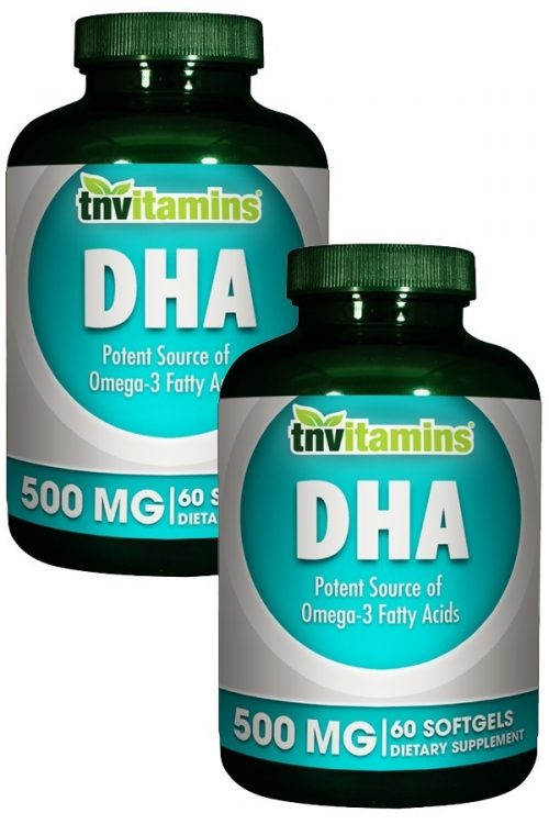 DHA 500 Mg Enteric Coated