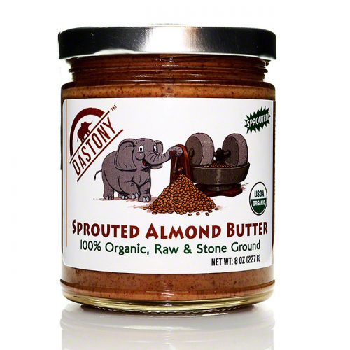 Dastony Raw Sprouted Almond Butter, 8 oz