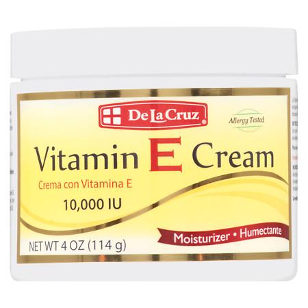 De La Cruz Vitamin E Cream - 4 oz.