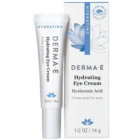 Derma E Hydrating Eye Cream with Hyaluronic Acid and Pycnogenol - 0.5 oz.