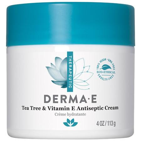 Derma E Tea Tree & E Antiseptic Creme - 4 oz.