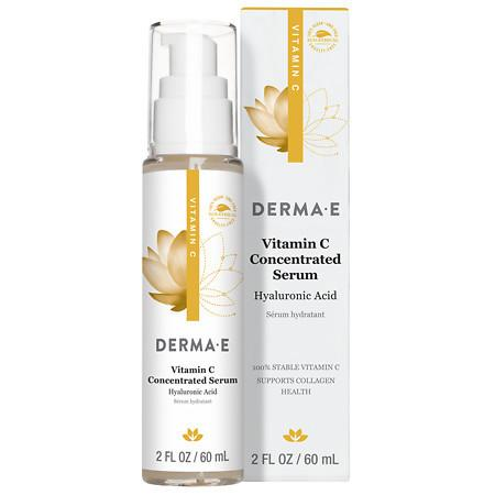 Derma E Vitamin C Concentrated Serum Natural Fragrance Oils - 2 oz.