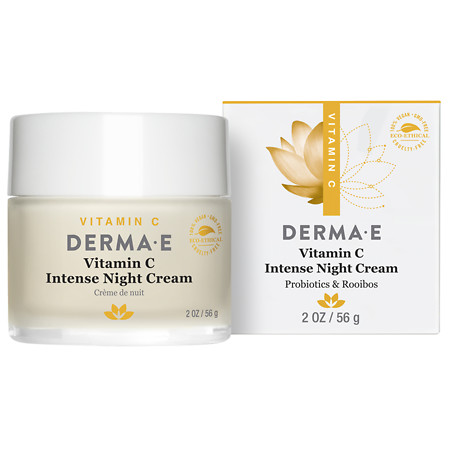 Derma E Vitamin C Intense Night Cream - 2 oz.