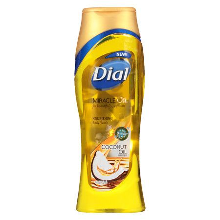 Dial Body Wash Miracle Oil Coconut - 16 oz.