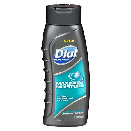 Dial Men Maximum Moisture Body Wash - 16 oz.