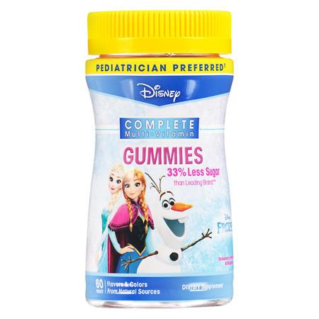 Disney Frozen Complete Children's Multi-Vitamin Gummies - 60 ea