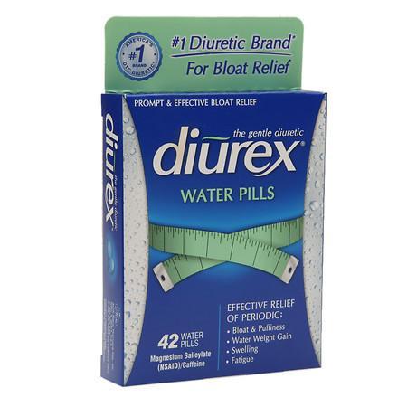 Diurex Diuretic Water Pills - 42 ea