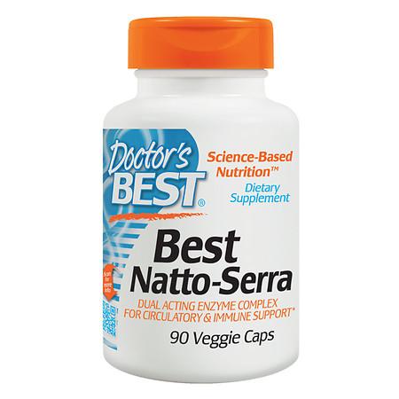 Doctor's Best Best Natto-Serra Circulatory & Immune Support - 90 ea