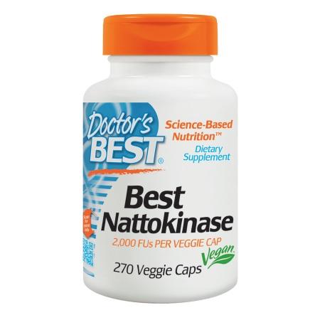 Doctor's Best Best Nattokinase, Veggie Caps - 270 ea