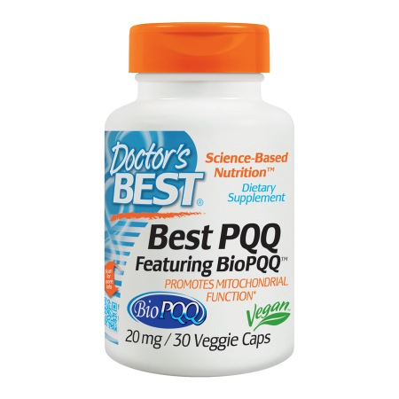 Doctor's Best Best PQQ, Mitochondrial Support, 20mg, Veggie Caps - 30 ea