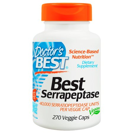 Doctor's Best Best Serrapeptase, Veggie Caps - 270 ea
