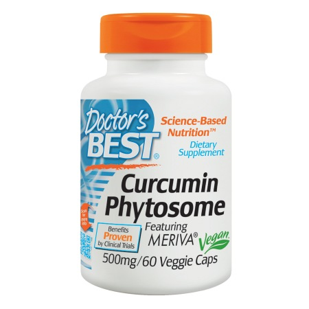 Doctor's Best Curcumin Phytosome Featuring Meriva, 500mg, Veggie Caps - 60 ea