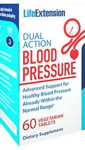 Dual Action Blood Pressure, 60 vegetarian tablets