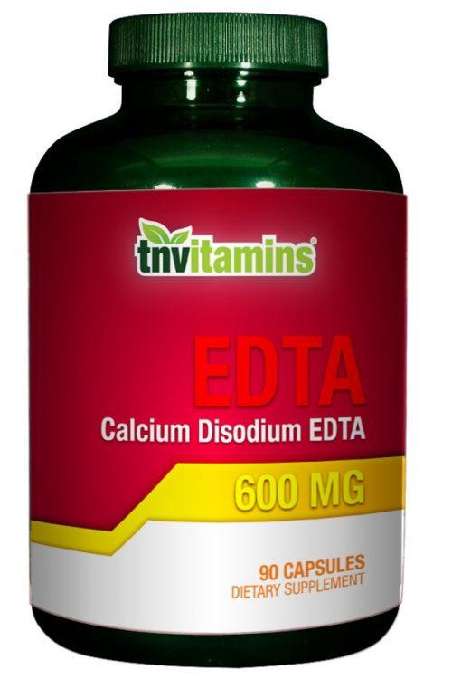EDTA Calcium Disodium 600 Mg