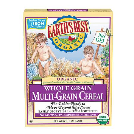 Earth's Best Organic Mixed Grain Cereal Original - 8 oz.