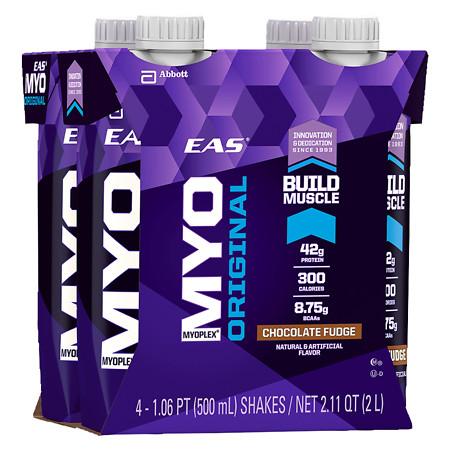 Eas Myoplex Original Ready To Drink Chocolate Fudge - 17 fl oz