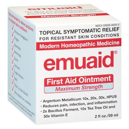 Emuaid First Aid Ointment, Maximum Strength - 2 fl oz