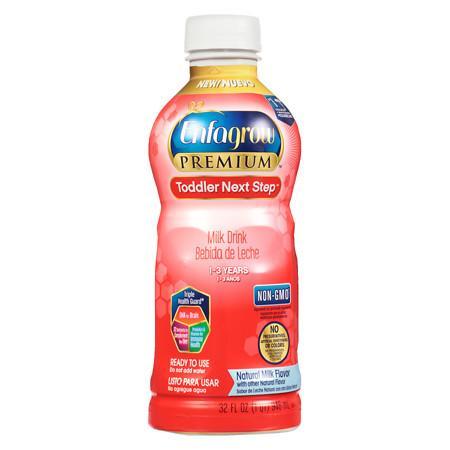 Enfagrow Premium Toddler Next Step Ready-To-Drink Natural Milk Natural Milk Flavor - 32 fl oz
