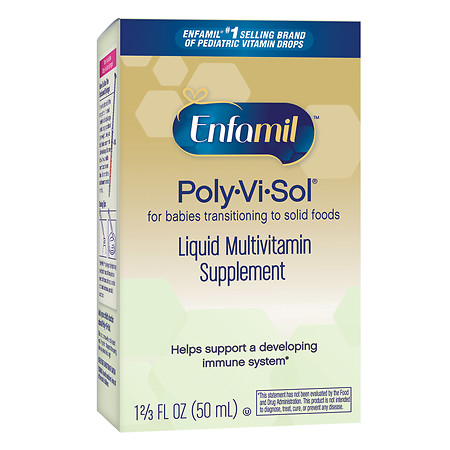 Enfamil Poly-Vi-Sol Multivitamin Supplement Drops - 1.66 fl oz