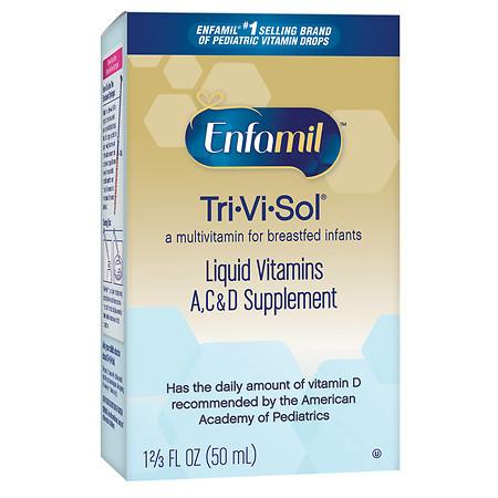 Enfamil Tri-Vi-Sol Multivitamin Supplement Drops - 1.66 fl oz