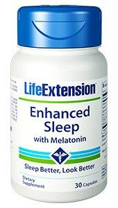 Enhanced Sleep with Melatonin, 30 capsules