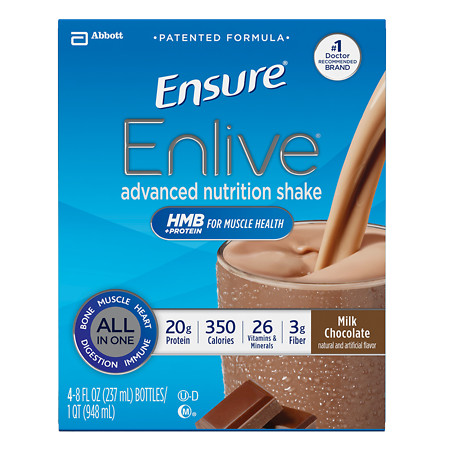 Ensure Enlive Advanced Nutrition Shake Chocolate - 8 oz.