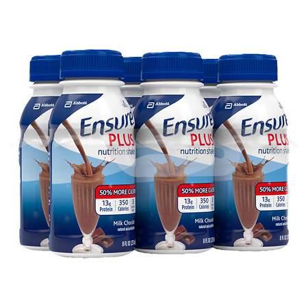 Ensure Plus Nutrition Shake Milk Chocolate - 8 fl oz