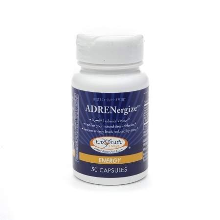 Enzymatic Therapy ADRENergize, Capsules - 50 ea