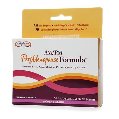 Enzymatic Therapy AMPM Peri Menopause Formula, Tablets - 60 ea