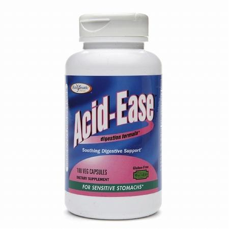 Enzymatic Therapy Acid-Ease Vegetarian Capsules - 180 ea