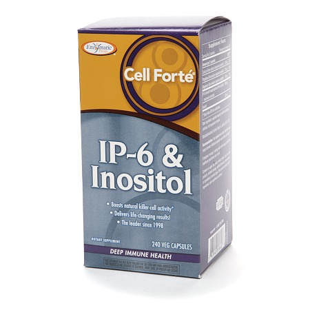 Enzymatic Therapy Cell Forte IP-6 & Inositol, Vegetarian Capsules - 240 ea