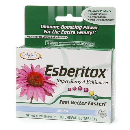 Enzymatic Therapy Esberitox, Chewable Tablets - 100 ea