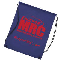 Enzyte MRC Sports Workout Drawstring Cinch Bag