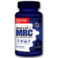 Enzyte MRC Testosterone Support + Energy + Muscle Booster w/ Fenugreek & Vitamin D3 - 3 Month Supply