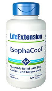 EsophaCool™, 120 chewable tablets