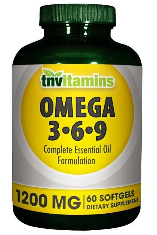 Essential Omega 3-6-9 Fish, Flax and Borage