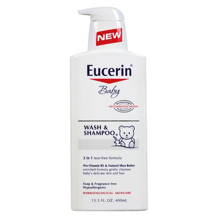 Eucerin Baby Soothing Wash & Shampoo - 13.5 oz.