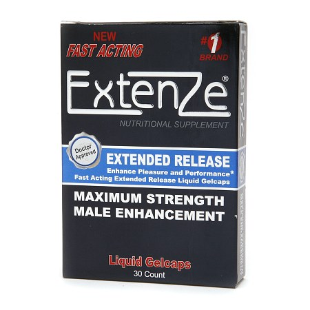 Extenze Maximum Strength Male Enhancement Nutritional Supplement Liquid Gelcaps - 30 ea